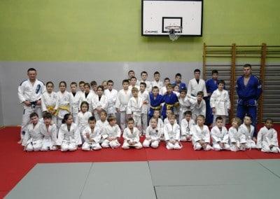 Zdjęcia egzaminu na pasy w judo