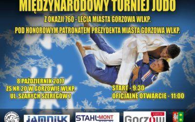 Międzynarodowy Turniej Judo z okazji 760 lecia Gorzowa