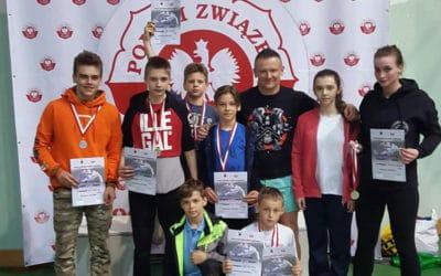 Rewelacyjne sukcesy na Mistrzostwach Polski w JU-JITSU
