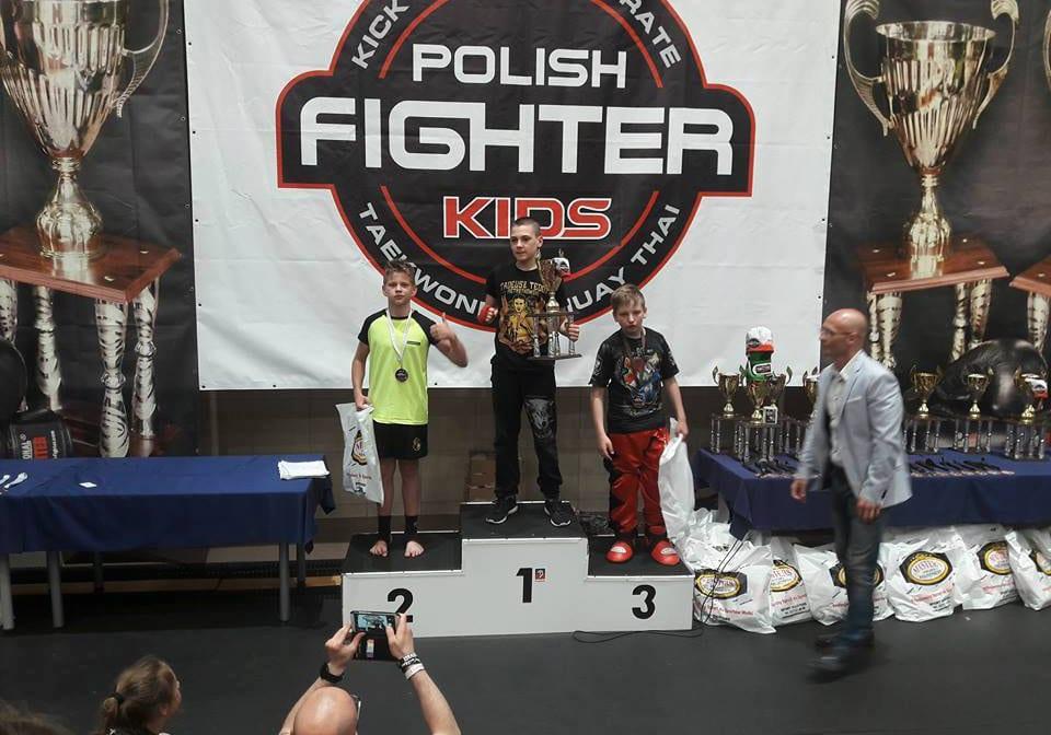 Srebrny medal na Polish Fighter Kids w Szczecinie