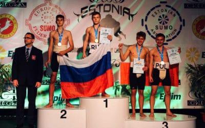 Mamy brązowy medal Mistrzostw Europy młodzików w Sumo!