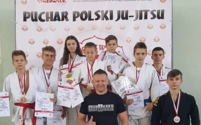 Medale na Pucharze Polski w ju-jitsu