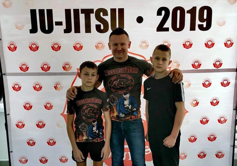 Ekipa trenera Biegańskiego z sukcesami w sumo i jiu jitsu