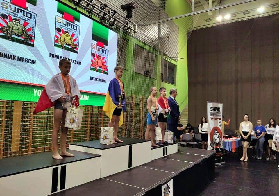 Brąz i 5 miejsce na Mistrzostwach Europy w SUMO